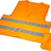 Защитный жилет Watch-out в чехле для профессионального использования, неоново-оранжевый, арт. 018145903