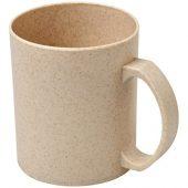 Чашка из пшеничной соломы Pecos 350мл, бежевый, арт. 018251403