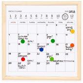 Календарь для заметок с маркером Whiteboard calendar, арт. 018253903