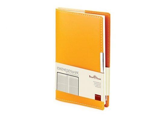 Еженедельник недатированный А6 Metropol, оранжевый, арт. 018149903