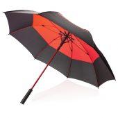 Автоматический двухцветный зонт-антишторм 27″, арт. 018220306