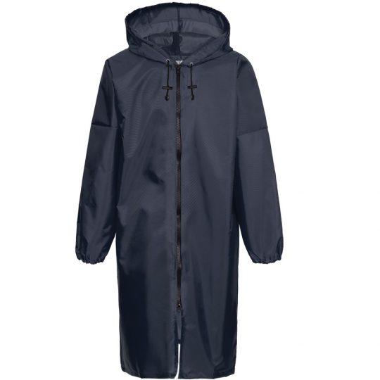 Дождевик «ХЗ», темно-синий с серебристым, размер XL