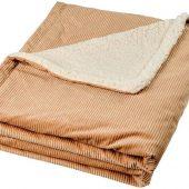 Шерповое покрывало Cosie с вельветом, оранжевый, арт. 018372003