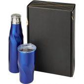 Подарочный набор Hugo из медных предметов с вакуумной изоляцией, cиний, арт. 018365203