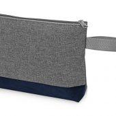Косметичкадвухцветная Trivium,серый/темно-синий, арт. 018394003
