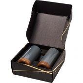 Подарочный набор медных термокружок с вакуумной изоляцией Valhalla, серый, арт. 018377703