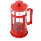 Пластиковый френч-пресс Savor, 350 мл, красный, арт. 018334403
