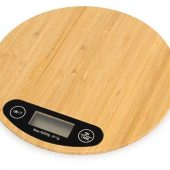 Бамбуковые кухонные весы Scale, натуральный, арт. 018405803