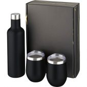 Подарочный набор из медных предметов с вакуумной изоляцией Pinto и Corzo, черный, арт. 018364103