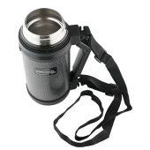 Термос из нерж. стали тм ThermoCafe HAMMP-1200-HT, 1.2L, серый, арт. 018389003