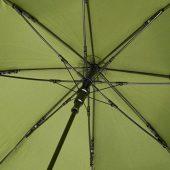 23-дюймовый ветрозащитный полуавтоматический зонт Bella, зеленый армейский, арт. 018362003