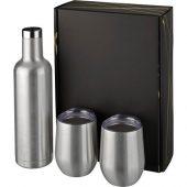 Подарочный набор из медных предметов с вакуумной изоляцией Pinto и Corzo, серебристый, арт. 018364003