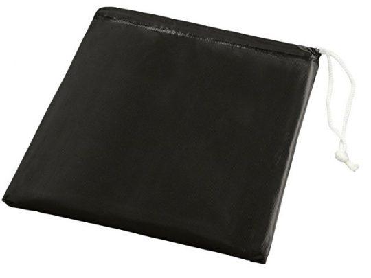 Складывающийся полиэтиленовый дождевик Paulus в сумке, черный, арт. 018377803
