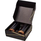 Подарочный набор медных термокружок с вакуумной изоляцией Valhalla, черный, арт. 018377503