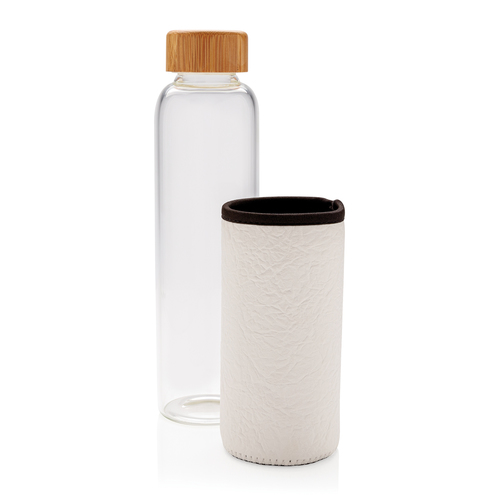 Стеклянная бутылка с чехлом, арт. 018284706