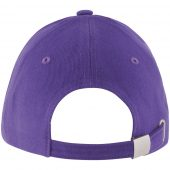 Бейсболка LONG BEACH, темно-фиолетовая