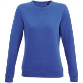 Толстовка женская Sully Women, ярко-синяя, размер XL