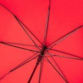 23-дюймовый автоматический зонт Alina из переработанного ПЭТ-пластика, красный, арт. 018947603
