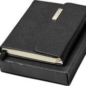 Карманный блокнот Sonata, черный, арт. 018947203