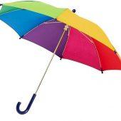 Детский 17-дюймовый ветрозащитный зонт Nina,  радужный, арт. 018947803