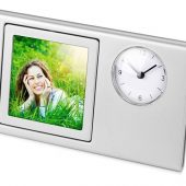 Часы Шербург, серебристый, арт. 018492903