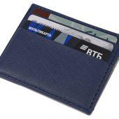 Чехол для карточек и денег Weekend из ПВХ, темно-синий, арт. 018583703