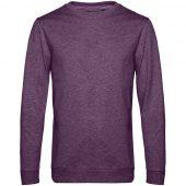 Свитшот унисекс Set In, фиолетовый меланж, размер L