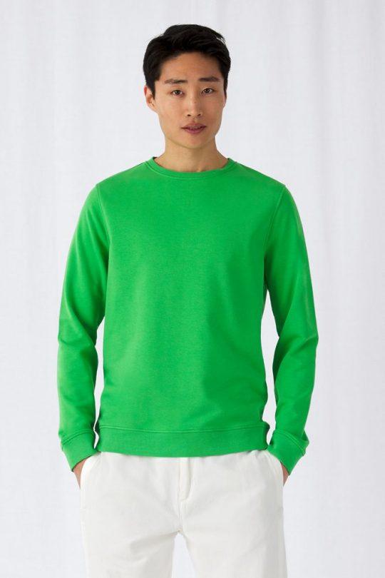 Свитшот унисекс BNC Organic, серый меланж, размер XXL