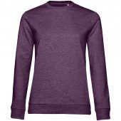 Свитшот женский Set In, фиолетовый меланж, размер L