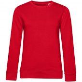 Свитшот женский BNC Organic, красный, размер S