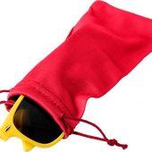 Чехол из микрофибры Clean для солнцезащитных очков, красный, арт. 019071503