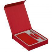 Коробка Rapture для аккумулятора 10000 мАч, флешки и ручки, красная