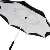 Прямой зонтик Yoon 23 с инверсной раскраской, белый, арт. 019013603