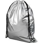 Блестящий рюкзак со шнурком Oriole, серебристый, арт. 019015903