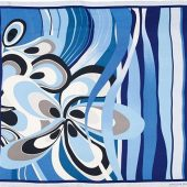 Платок шелковый Jean-Louis Scherrer модельFleur, арт. 019102503