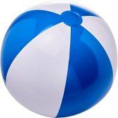 Непрозрачный надувной пляжный мяч Bora, синий/белый, арт. 019070503