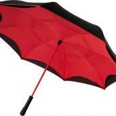 Прямой зонтик Yoon 23 с инверсной раскраской, красный, арт. 019013503