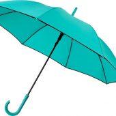 Ветрозащитный автоматический цветной зонт Kaia 23,  мятный, арт. 019013803