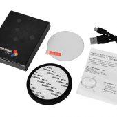 Беспроводное зарядное устройство Sketch с полноцветной печатью, черный, арт. 019012203