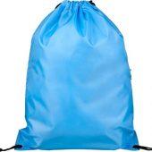 Рюкзак Oriole на молнии со шнурком, светло-синий, арт. 019017003