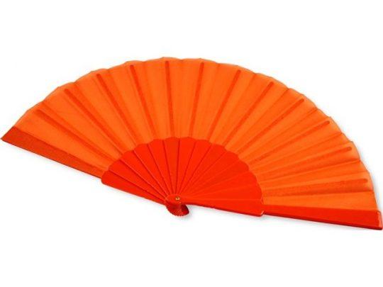Складной ручной веер Maestral в бумажной коробке, оранжевый, арт. 019069303