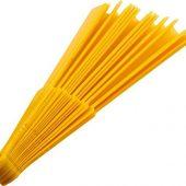 Складной ручной веер Maestral в бумажной коробке, желтый, арт. 019069403