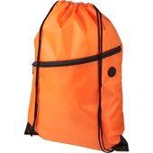 Рюкзак Oriole на молнии со шнурком, оранжевый, арт. 019017203