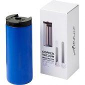 Вакуумный термостакан Lebou с медным покрытием 360мл, синий, арт. 018958003