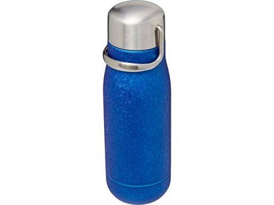 Спортивная бутылка Yuki объемом 350мл с медной вакуумной изоляцией, cиний, арт. 018998703