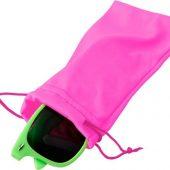 Чехол из микрофибры Clean для солнцезащитных очков, неоново-розовый, арт. 019071703