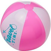 Непрозрачный пляжный мяч Bora, розовый/белый, арт. 019070903
