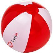 Пляжный мяч Bondi, красный/белый, арт. 019064703