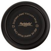 Термокружка вакуумная герметичная Portobello, Baleo, 450 ml, матовое покрытие, черная
