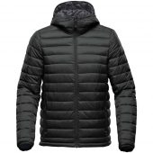 Куртка компактная мужская Stavanger черная с серым, размер 3XL